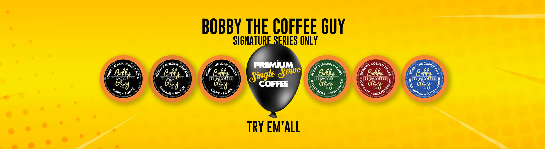 Why Drink Bobby the Coffee Guy