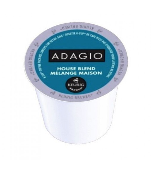 Adagio House Blend, Single Serve Coffee