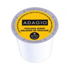 Adagio Toscana Blend, Single Serve Coffee