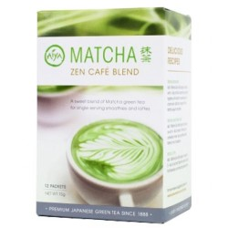 Aiya Matcha Zen Cafe Blend (12 Packets)