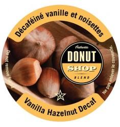 Authentic Donut Shop Vanilla Hazelnut Decaf Coffee