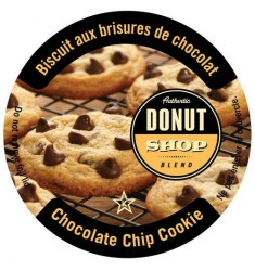 Authentic Donut Shop Chocolate Chip Cookie, Single Serve Coffee
