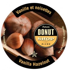 Authentic Donut Shop Vanilla Hazelnut  Single Serve Coffee