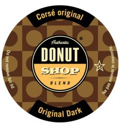 Authentic Donut Shop Dark Roast Single Serve Coffee