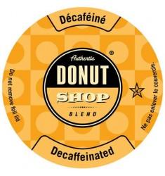 Authentic Donut Shop Decaf Single Serve Coffee