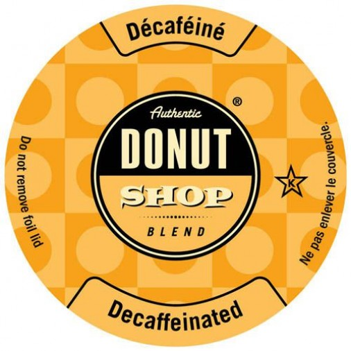 Authentic Donut Shop Decaf Single Serve Coffee