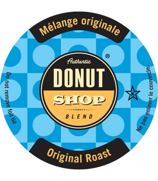 Authentic Donut Shop Original Roast Coffee Single Serve