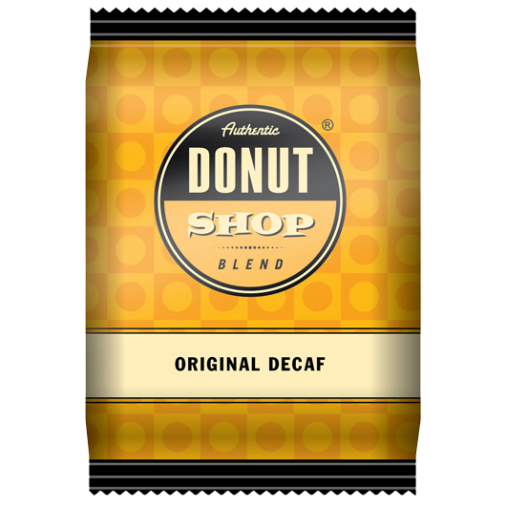 Authentic Decaf Donut Shop Blend Fractional Pack Coffee 42 X 2.5oz