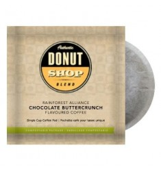 Authentic Donut Shop Blend Chocolate Buttercrunch, Pod Coffee