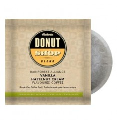 Authentic Donut Shop Blend Vanilla Hazelnut Cream, Pod Coffee