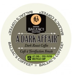 Balzac's A Dark Affair Single Serve Coffee