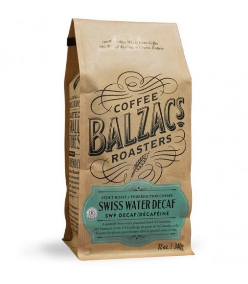 Balzac's Swiss Water Decaf Whole Bean Coffee
