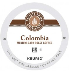 Barista Prima Colombia Single Serve Coffee