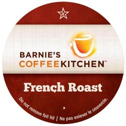 Barnie's Coffee French Roast, Single Serve Coffee