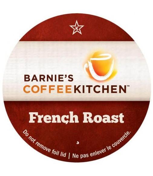 Barnie's Coffee French Roast, Single Serve Coffee