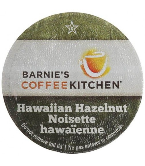 Barnie's Coffee  Hawaiian Hazelnut, Single Serve Coffee