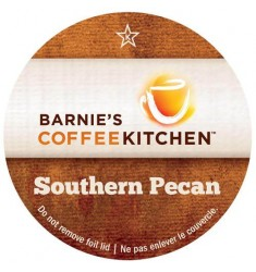 Barnie's Coffee Southern Pecan, Single Serve Coffee