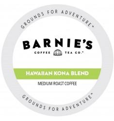 Barnie's Coffee Hawaiian Kona Blend, Single Serve