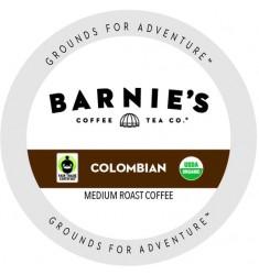 Barnie's Colombian Organic Coffee Single Serve Coffee
