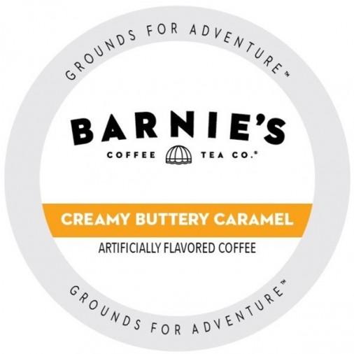 Barnie's Creamy, Buttery, Caramel, Single Serve Coffee
