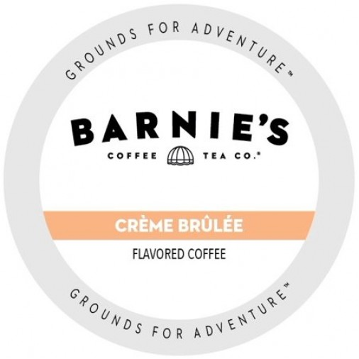 Barnie's Coffee Crème Brûlée, Single Serve Coffee