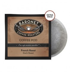 Baronet Extra Bold French Roast Pods