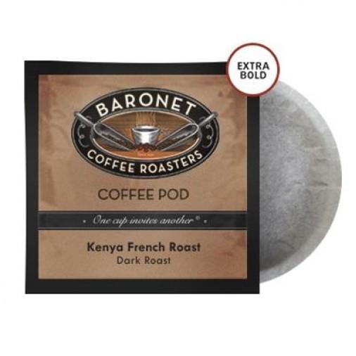Baronet Extra Bold Kenya Aa Dark Roast  Pods