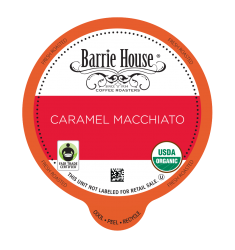 Barrie House Caramel Macchiato Single Serve Coffee