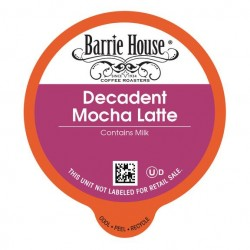 Barrie House Decadent Mocha Latte Single Serve