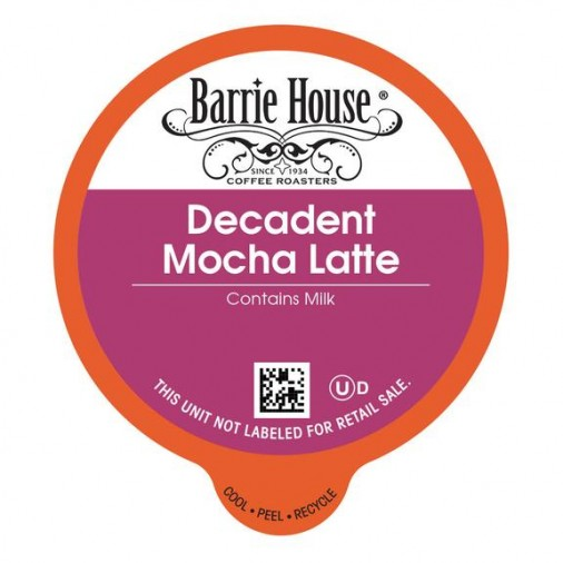 Barrie House Decadent Mocha Latte Single Serve