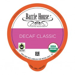 Barrie House Decaf Classic Single Serve Coffee