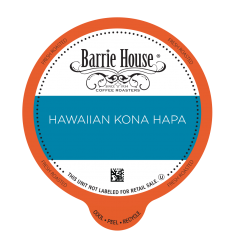 Barrie House Kona Blend Single Serve Coffee