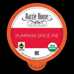 Barrie House Pumpkin Spice Pie Single Serve Coffee