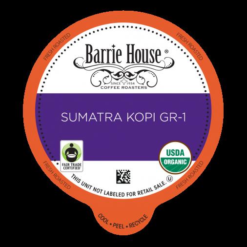 Barrie House Sumatra Kopi Gr-1 Single Serve