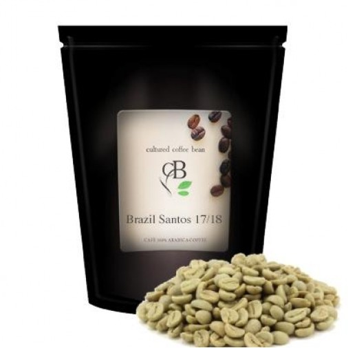 Beanwise Brazil Santos 17/18 Green Beans 454g (1lb)