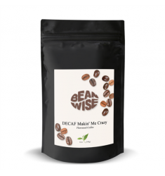 Beanwise Decaf Makin Me Crazy Flavoured Coffee Beans (8oz)