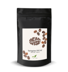 Beanwise Oro Caffè Springtime Decaf Espresso Beans (8oz)