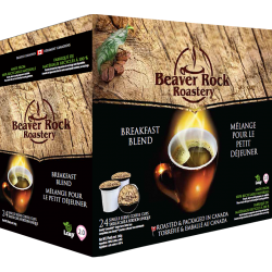 Beaver Rock Breakfast Blend Single Serve Coffee