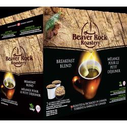 Beaver Rock Breakfast Blend Single Serve Coffee