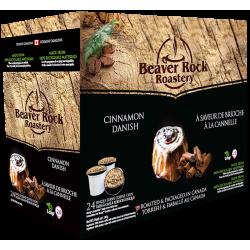 Beaver Rock Cinnamon Danish Single Serve Coffee