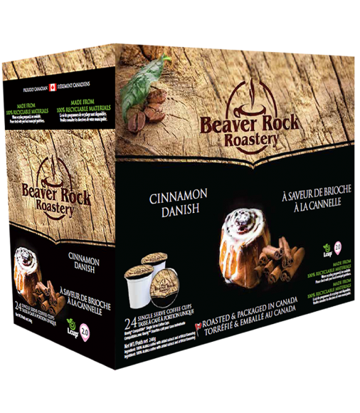 Beaver Rock Cinnamon Danish Single Serve Coffee