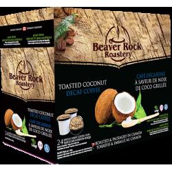 Beaver Rock Toasted Coconut Decaf Single Serve Coffee