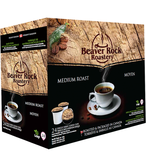 Beaver Rock Medium Roast Single Serve Coffee