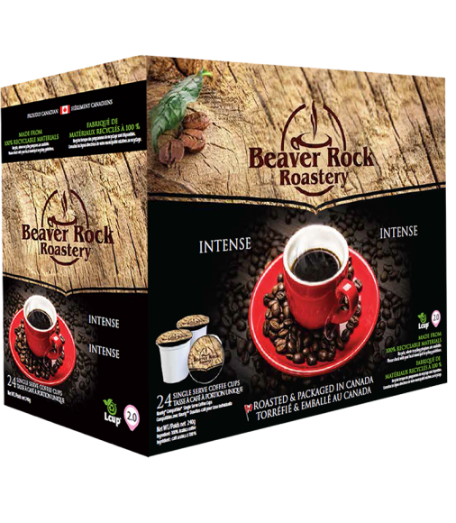 Beaver Rock Intense Single Serve Coffee
