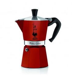 Bialetti 6 Cup Stovetop Espresso Maker (Red)