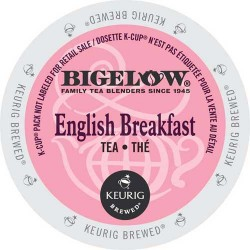 Bigelow English Breakfast Single Serve Tea