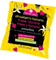 Blender Boyz Smoothie Strawberry Banana 4 X 3.6oz