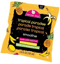 Blender Boyz Smoothie Tropical Paradise 4 X 3.6oz