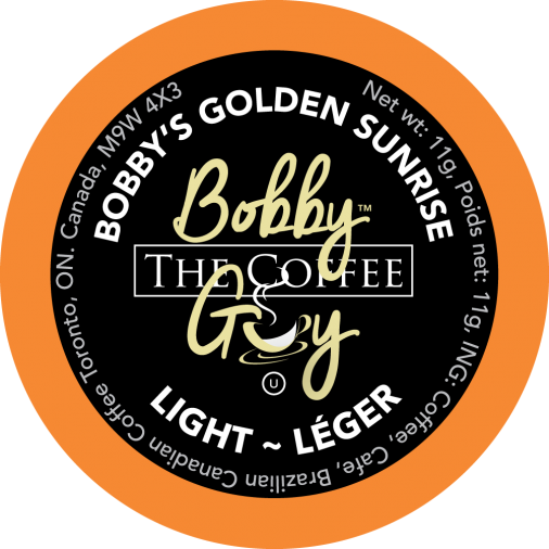 Bobby's Golden Sunrise Single Serve Coffee