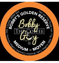 Bobby's Golden Reserve Single Serve Coffee